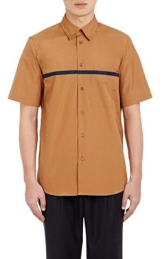 MARNI Short-Sleeve Poplin Shirt. #marni #cloth #shirt