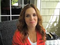 Get Photo Shoot Hair at Home With Rachel Hollis, The Hurried Hostess - YouTube