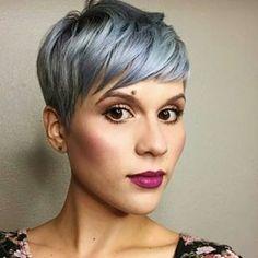Funky Steel Blue Pixie!! @behindkelschair #HAIRIDEAS #HairINSPO #COLORIST #HairColorist #Stunner #HotHair #GreyHair #silverFOX #blueHAIR #FunkHair #ShortHairCut #Shorthair #pixieCUT #Pixie #HairOfTheDay #Banging #HIGHLIGHTS #Fierce #Fiyah #newLOOK #NewHair #SheDidThat #HairCOLORIST #SummerHair #BEDIFFERENT #DCSALON #DMVSTYLIST #DCHAIRSTYLIST #DMVHAIRSTYLIST #1HAIRBYGINA