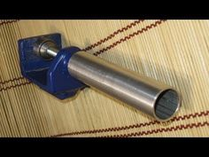 Простейший самодельный станок для прокатки листового металла. Изготовление разварок. - YouTube