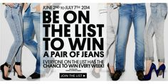 Buffalo Jeans Be on the List and Win Contest