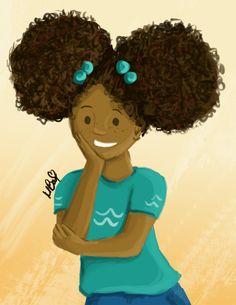 7 Natural Hair Books for Black Girls Books For Black Girls, Black Children's Books, Black Kids, Natural Hair Art, Natural Hair Journey, Natural Hair Styles, Black Is Beautiful, Beautiful Artwork, Beautiful Women