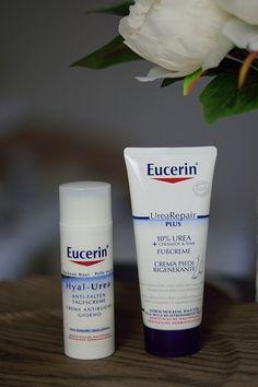 Hilfe bei trockener Haut: Eucerin Urea Pflegeserie #beauty #cosmetics #beautyblogger #dryskin