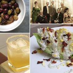 Mad Men dinner party  http://www.yumsugar.com/Fast-Easy-Recipe-Kiwi-Cobbler-Cocktail-4342498