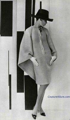 From: Couture Allure Vintage Fashion. #Vintage #NinaRicci 1963 #ElizabethRinne - chemise dress ♥