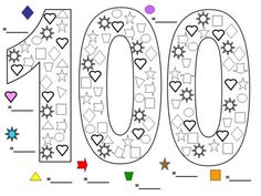 100 Day Coloring Sheets 100 day coloring sheets school coloring pages 100 days of 100 Day Coloring Sheets. Here is 100 Day Coloring Sheets for you. 100 Day Coloring Sheets day coloring pages of school colouring page wozdengi. 100th Day Of School Crafts, 100 Day Of School Project, First Day School, 100 Days Of School, School Projects, School Coloring Pages, Coloring Pages For Kids, Teaching Colors, Teaching Math