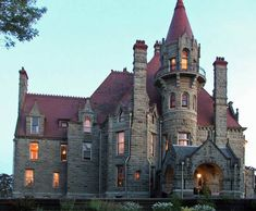 Craigdarroch Castle in Victoria, British Columbia. Built in the 1800s by Scottish immigrant Robert Dunsmuir.
