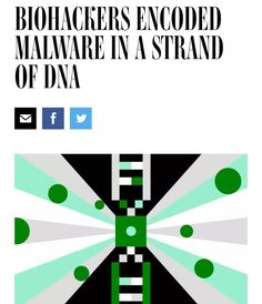 Beware the dangers of future Tech #munchmath #hackers #biology #ethics #bioengineering