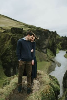 Epic Iceland Engagement Photos by M2 Photography