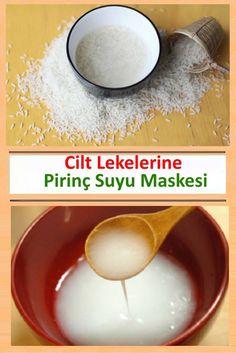 Cilt Lekelerine Pirinç Suyu Maskesi