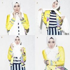 Casual style hijab by Dian Pelangi