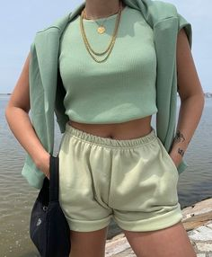 Mode Outfits, Trendy Outfits, Fashion Outfits, Womens Fashion, Girly Outfits, Casual Weekend Outfit, Comfy Casual, Fashion 2020, Aesthetic Clothes