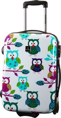 Saxoline Owls Kabinen Trolley 55 cm 01 owls