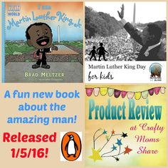 Crafty Moms Share: I Am Martin Luther King, Jr. -- Book Review and Martin Luther King Day for Kids Series #penguinkids