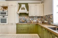 Кухня оливкового цвета – фото примеры оформления интерьеров и мебели