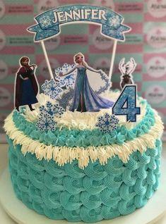 Bolo da Elsa: 80 Modelos Fantásticos Para se Inspirar! Bolo Frozen, Elsa Frozen, Frozen Cake Designs, Bolo Elsa, Birthdays, Christmas Ornaments, Holiday Decor, Ideas Para, Alice
