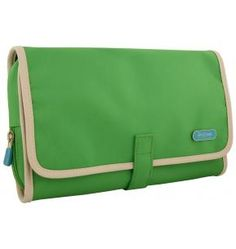 This is classy and colorful! Hanging toiletry case $42