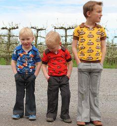 Zonen 09 charlie tshirt en jacob broek