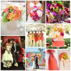 Colorful Wedding Inspiration on the CTP Blog! http://www.coordinatedtoperfection.com/3/post/2014/11/colorful-weddings-7-ways-to-add-a-splash-of-color-to-your-wedding-day.html