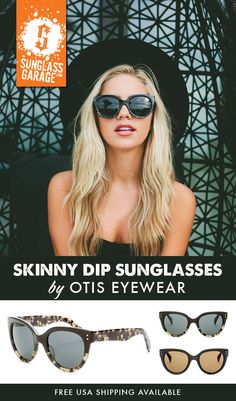 33f95b6aba6 Otis Skinny Dip Sunglasses - by Otis Eyewear - Free USA Shipping