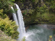 Wailua Falls, Kauai HI