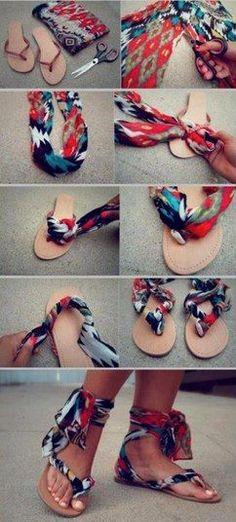 LOVE this flip flop craft!