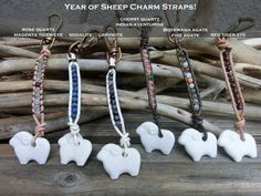 Year of Sheep Charm and Japanese Omamori Amulet Chinese New Year 2015 Good Luck  Protection Happiness Charm made in Japan by Off on a Whim