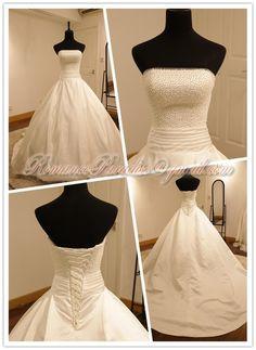 Robe de mariée sublime neuve couleur ivoire claire  Robes de mariée ...