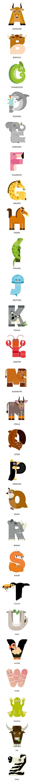 Animal Alphabet II