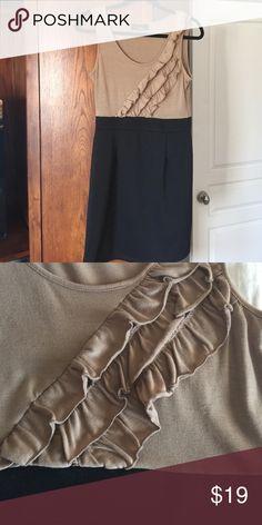 Black and Tan dress Very flattering. Figure fitting. Turn heads! Dresses Mini