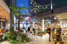 Plaza Design, Mall Design, Retail Design, Retail Architecture, Container Architecture, Shopping Street, Street Mall, Shopping Mall, Public Space Design
