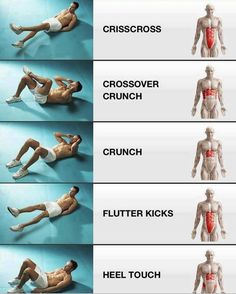 Target your abs with these workouts.