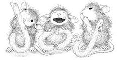 house mouse stamps Joy