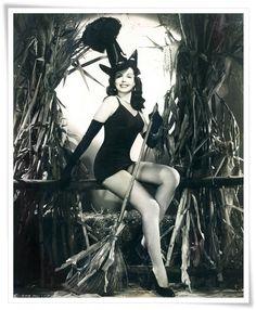 Ann Miller the tapdancing Texan Vintage Hollywood Halloween Pin-ups