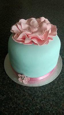 How to make a large flower celebration cake. | eBay