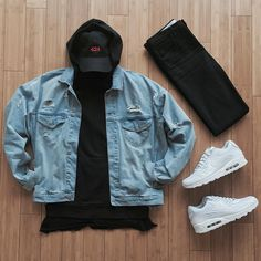 """""""Repeated Pieces, Different Feel @dennistodisco @outfitgrid #outfitgrid #outfitsociety #outfitrepost #outfitplace #simplefits #gridstyles #clubstreetstyle…"""""""