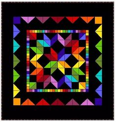 I LOVE the way colors just pop with black back grounds!! ~~Trish