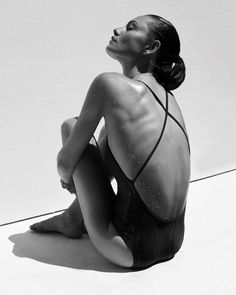 Phoebe Tonkin // new outtakes for Matte Swim (Summer Swimwear Fashion, Bikini Fashion, Evolution, Phoebe Tonkin, Beauty Shots, Photoshoot Inspiration, Fashion Inspiration, Black Swimsuit, Beach Babe