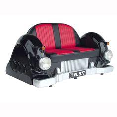 M-CAR SOFA (Black)