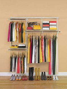 Rubbermaid Configurations 3-6' Closet Kit at Menards, 79.99