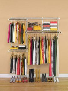 Rubbermaid Configurations 3-6' Closet Kit at Menards, 79.99