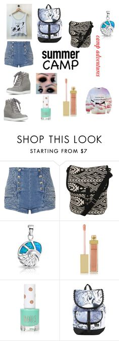 """""""camp adventure"""" by winter116 ❤ liked on Polyvore featuring Justin Bieber, Pierre Balmain, Pilot, Bling Jewelry, AERIN, Topshop, Disney, summercamp and 60secondstyle"""