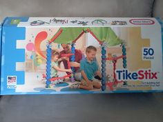 WIN a Little Tikes TikeStix Clubhouse playset! Ends 8/23 at www.4babyandmom.com!