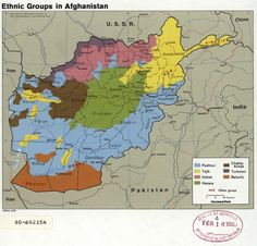 Ethnic groups Afghanistan         S: https://www.weforum.org/agenda/2017/02/from-the-russian-front-to-cocaine-trafficking-routes-in-1989-and-african-elephant-populations-here-are-some-of-the-cia-s-most-intriguing-declassified-maps?utm_content=buffer71156&utm_medium=social&utm_source=facebook.com&utm_campaign=buffer