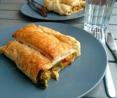 Vegetarische & vegane Rezepte: Gemüsestrudel