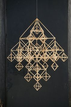 "DIY himmeli kit ""Family himmeli"" (traditional Finnish design) (reed straw, length - cm), ca 600 pcs) Christmas Mood, Christmas Crafts, Christmas Decorations, Straw Decorations, Star Diy, Paper Crafts Origami, Handmade Ornaments, Korn, Craft Supplies"