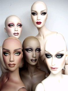 OOAK Haute Dolls, these are Drag Inspiration Personified! GORGEOUS!!