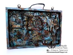 AMAZING tutorial with rust pastes, paints. Feb16.