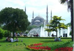 Blue Mosque, a place of quiet and peace