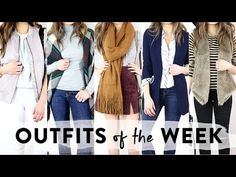 November Outfits of the Week | OOTW | Miss Louie - YouTube